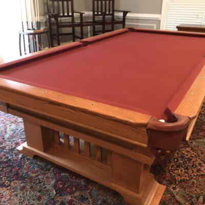 Nine Foot Regulation Pool Table
